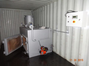 Containerized Mobile Incinerators 3